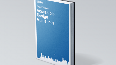 cover of the Toronto Accessibility Design Guidelines